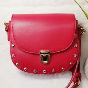 Forever 21 Crossbody studded bag removable strap